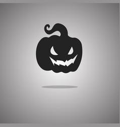 Gourd halloween isolated vector