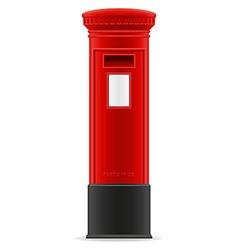 london mail box vector image