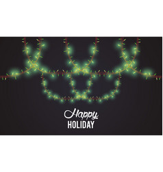 marry christmas banner vector image
