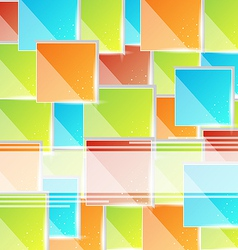 Abstract creative background with copy space vector image vector image