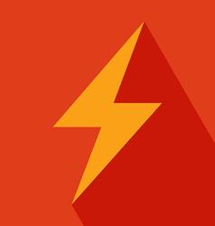 Thunder Icon vector image