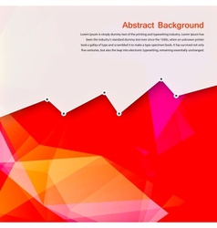 abstract background Polygon pink and card vector image