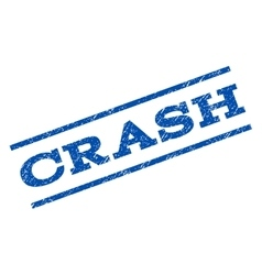 Crash Watermark Stamp vector