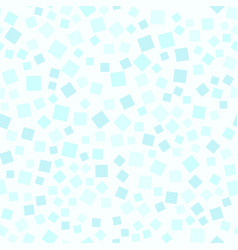 Cyan square pattern seamless vector
