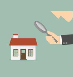 findl estate vector image