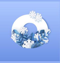 number zero winter natural vector image