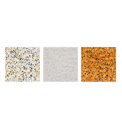 Sone texture pattern set vector