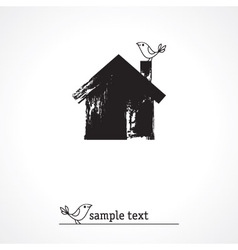 Sweet home icon vector