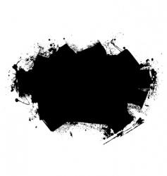 splat roller marks vector image vector image