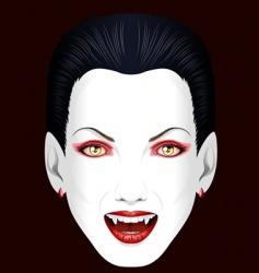 vampires grin vector image