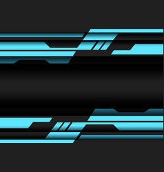 abstract blue grey geometric cyber futuristic vector image