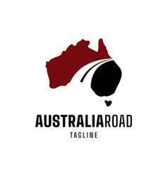 Australian road logo vector