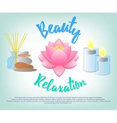 Beauty Salon Facials Beauty Relaxation Aromatherap vector