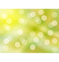 Bright green yellow background abstract vector image