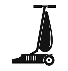 commercial vacuum cleaner icon simple style vector image
