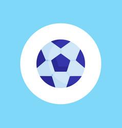 football ball icon sign symbol vector image