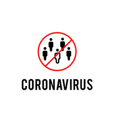 protective measure against coronavirus vector image