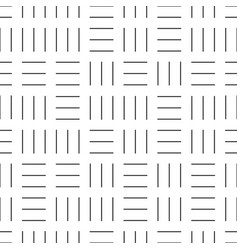 Seamless geometric pattern - dash texture vector