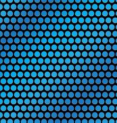 blue dot vector image vector image