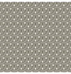 seamless pattern from decorative rings vector image vector image