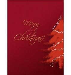 Christmas with christmas tree vector