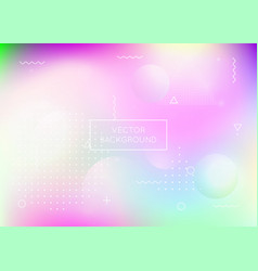 dynamic shape background with liquid fluid vector image