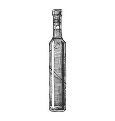 ice wine vector image