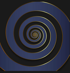 luxury spiral background vector image
