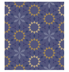 Moroccan seamless pattern tile background vector