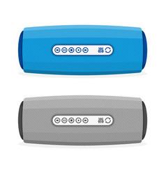 Portable speaker vector