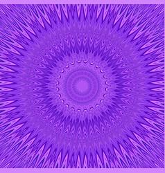 Purple mandala explosion fractal background vector