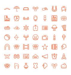 Retro icons vector