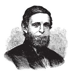 Schuyler colfax vintage vector
