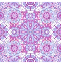 Seamless round pattern for printing on fabric or vector