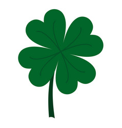 four leaf clover icon isolated vector image
