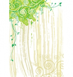 plant and texture background vector image