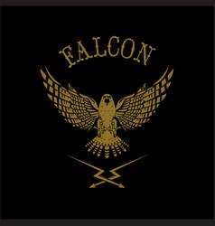 Falcon logo vector
