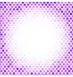 Abstract mosaic purple background vector
