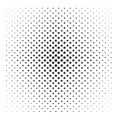 Abstract Pop Art Dotted Pattern vector