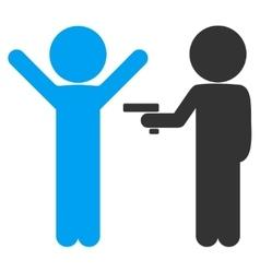 Children Crime Icon vector image