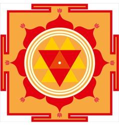 Durga yantra vector