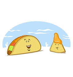 Mexican Food Cartoon vector image