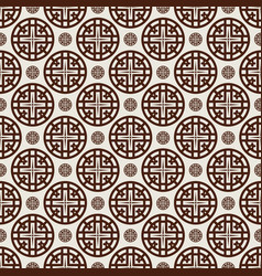 Pattern 0013 4 star and cross vector