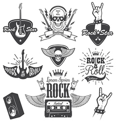 Rock 2 vector image