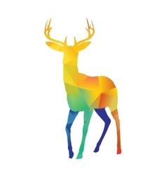Standing Deer vector image
