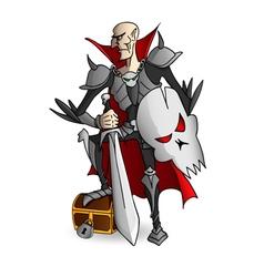 Tsar Koschey - King Koschey vector image