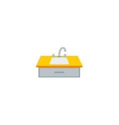 Water crane icon flat element vector