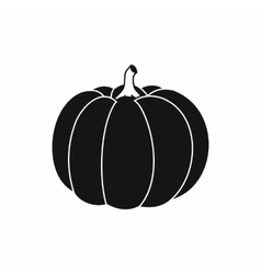 Pumpkin icon in simple style vector image vector image
