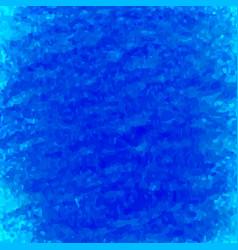Blue crayon scribble textured background vector