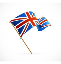 Flag of UK vector image